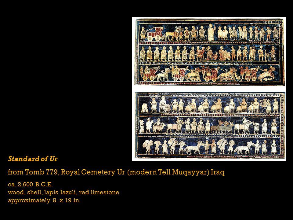 from Tomb 779, Royal Cemetery Ur (modern Tell Muqayyar) Iraq