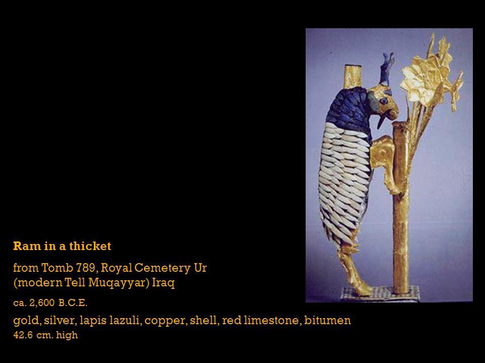 from Tomb 789, Royal Cemetery Ur (modern Tell Muqayyar) Iraq