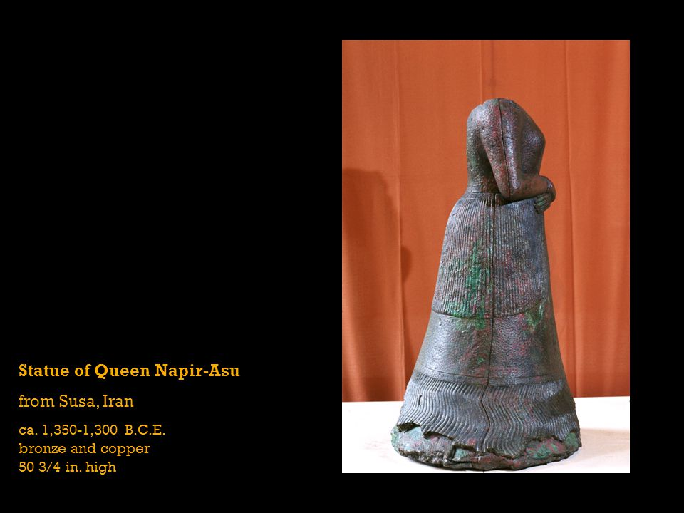 Statue of Queen Napir-Asu from Susa, Iran