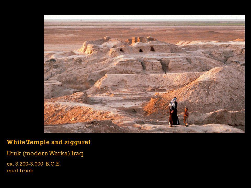 White Temple and ziggurat Uruk (modern Warka) Iraq