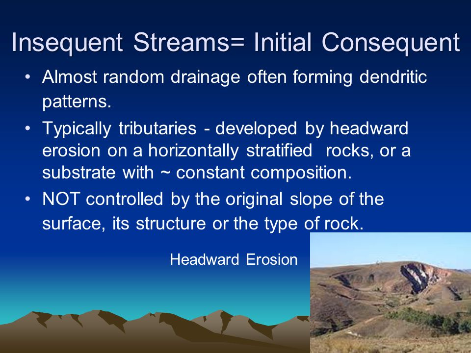 Insequent Streams= Initial Consequent