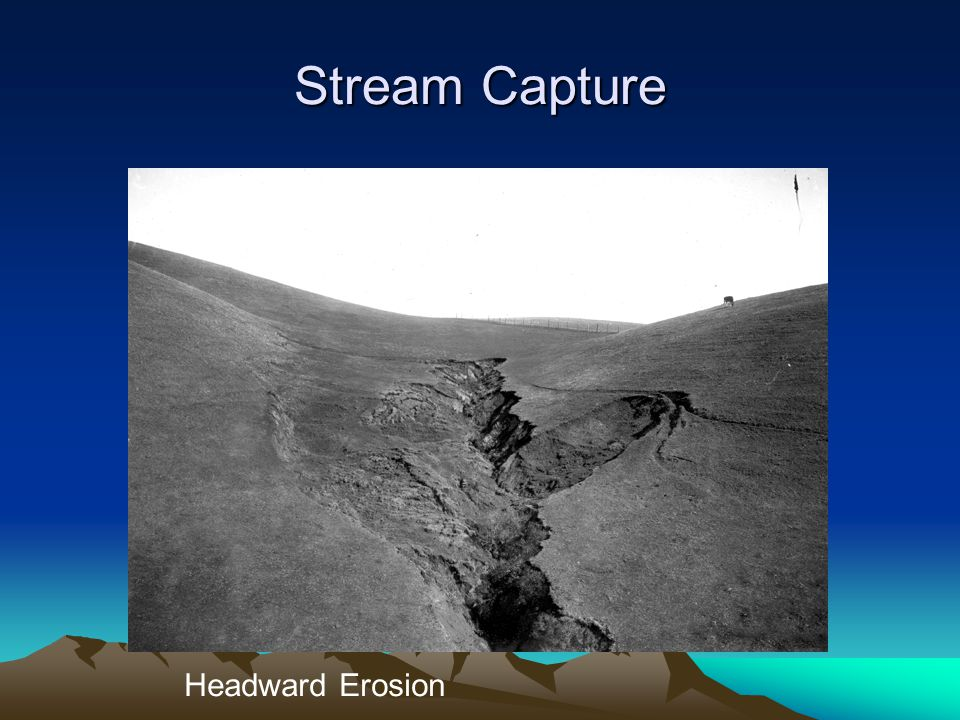 ESCI 307, Fall 2003, Lecture 3 Stream Capture Headward Erosion