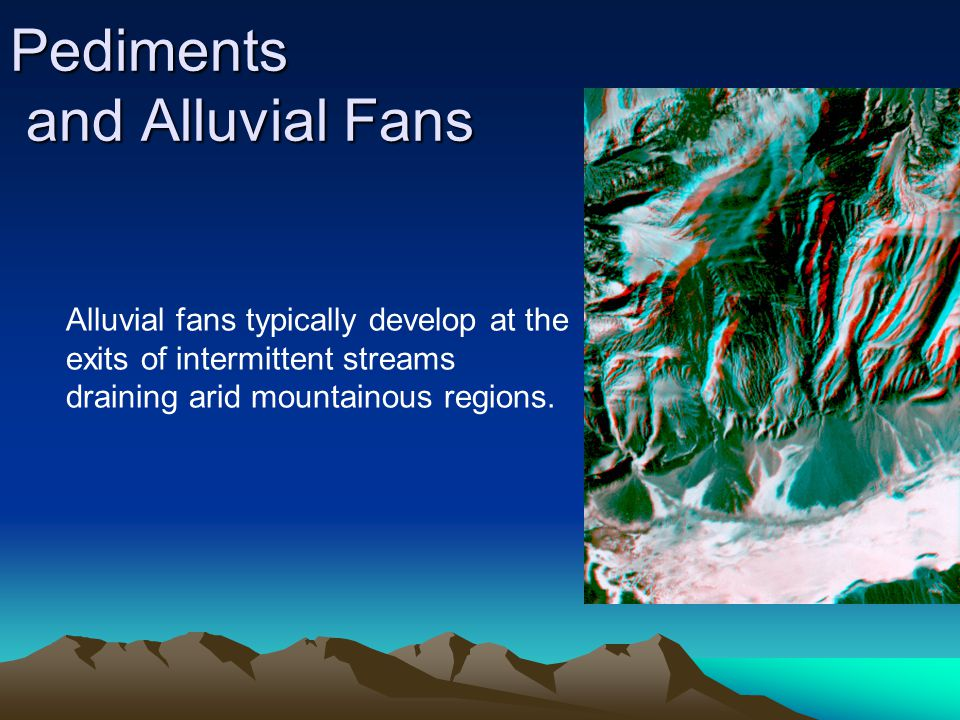 Pediments and Alluvial Fans