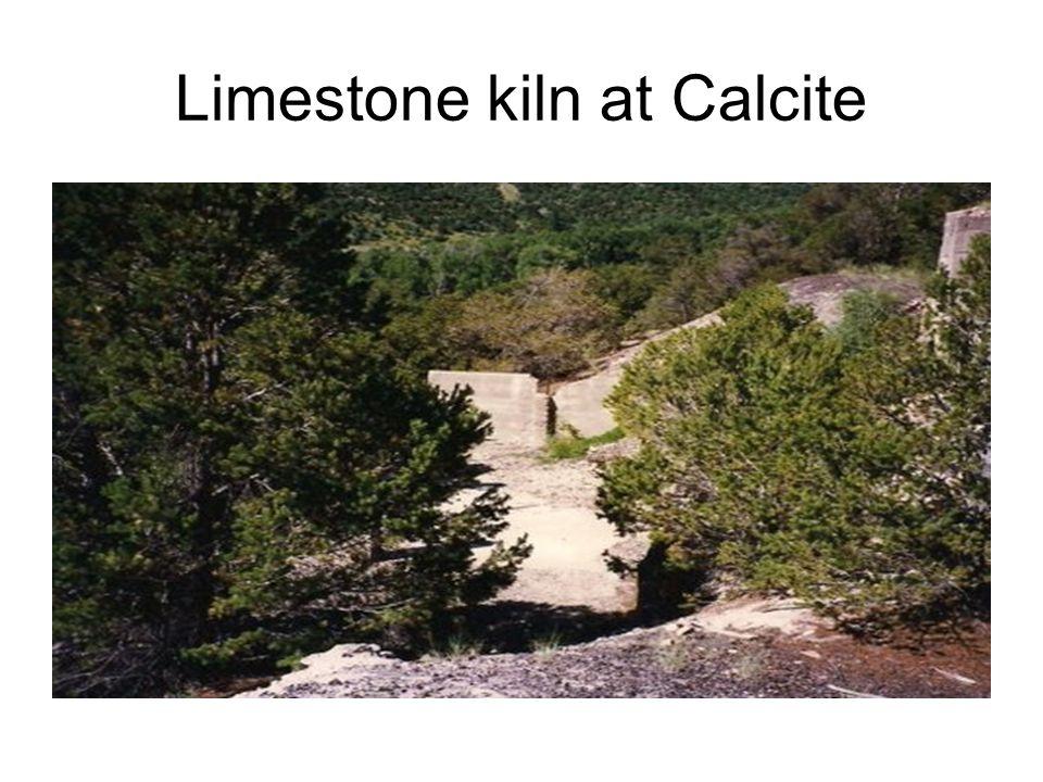 Limestone kiln at Calcite