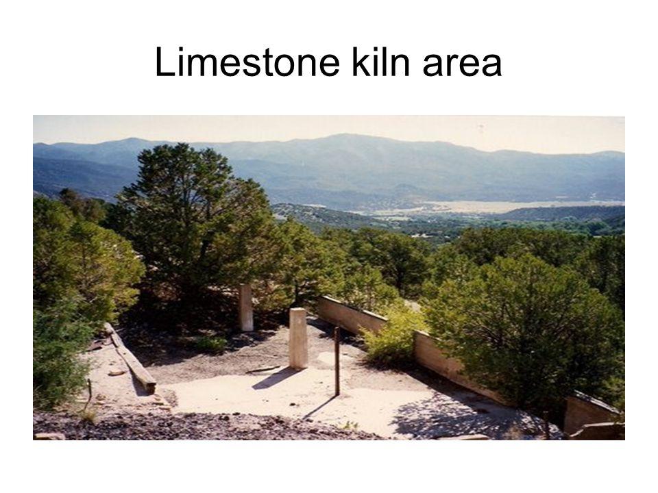 Limestone kiln area