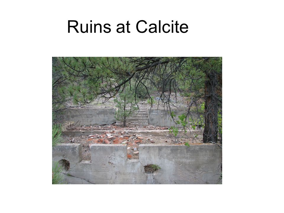 Ruins at Calcite