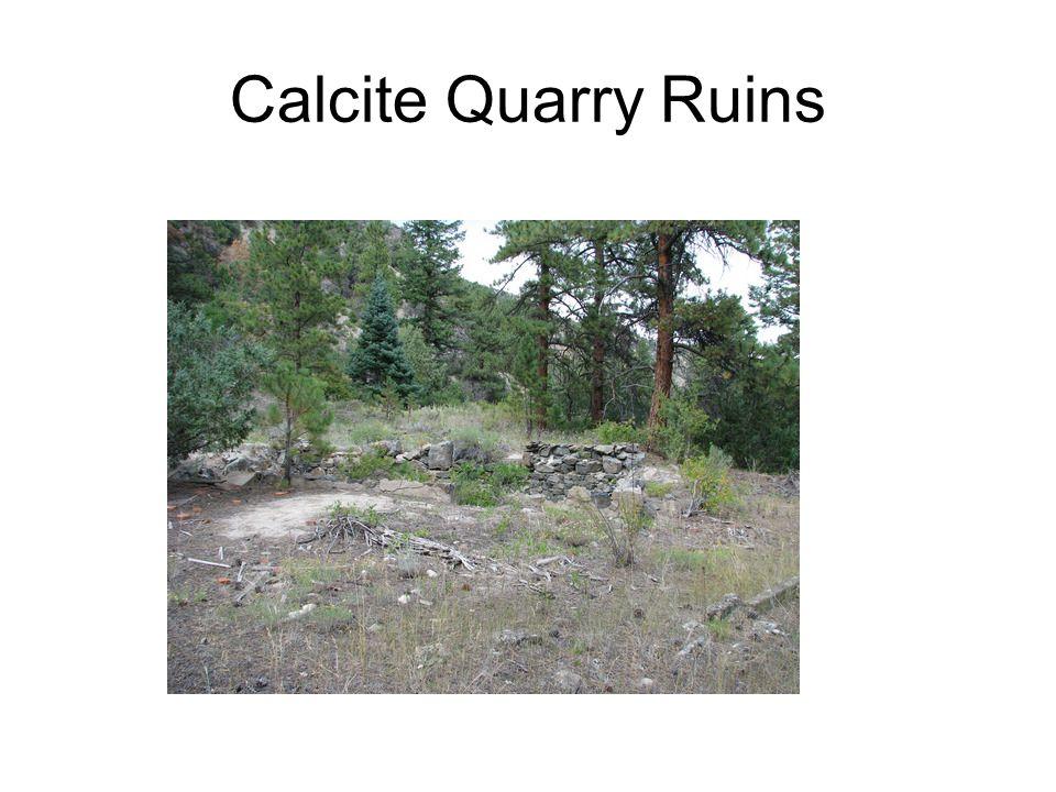 Calcite Quarry Ruins