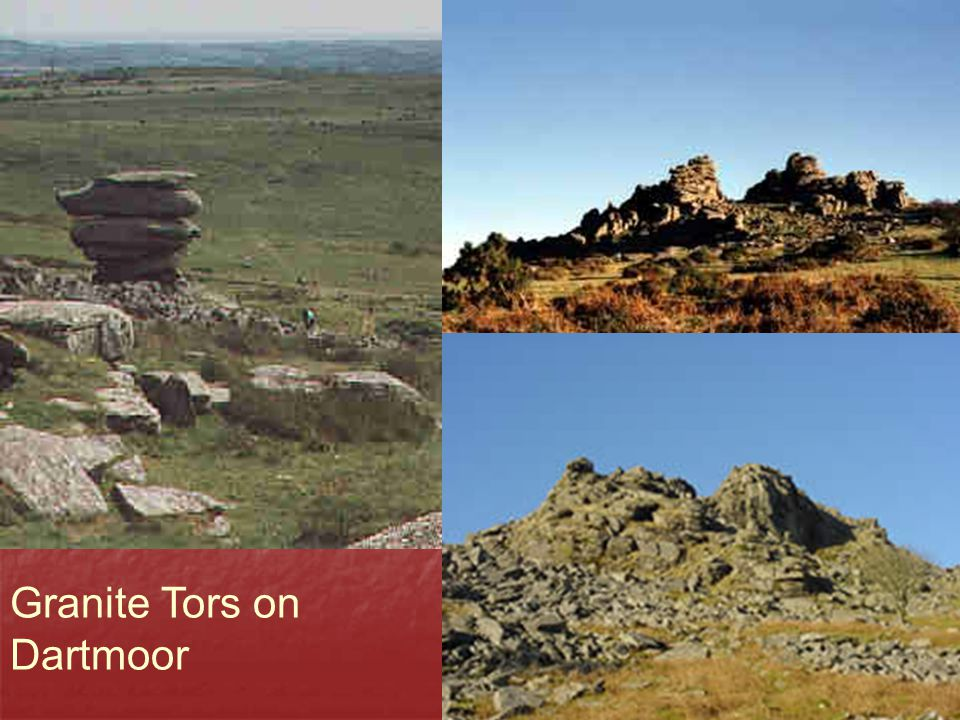 Granite Tors on Dartmoor