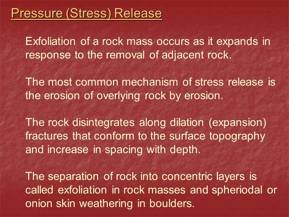 Pressure (Stress) Release