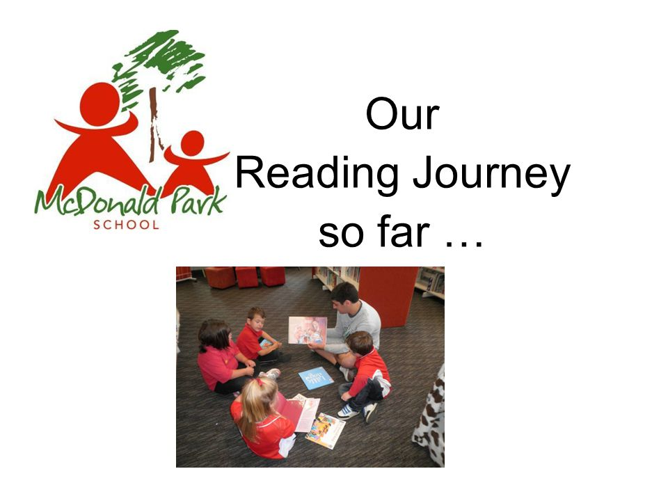 Our Reading Journey so far …
