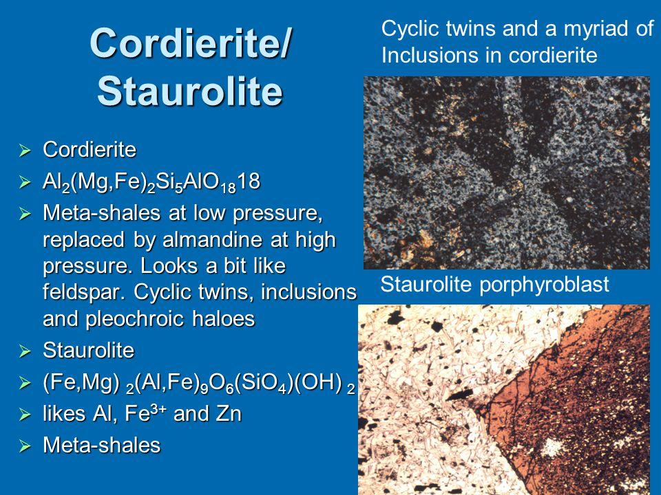 Cordierite/ Staurolite