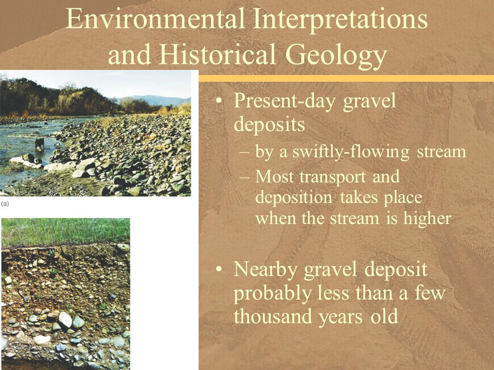 Environmental Interpretations and Historical Geology