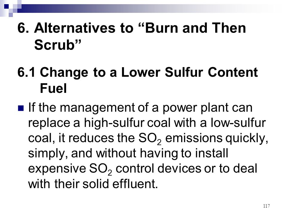 6. Alternatives to Burn and Then Scrub