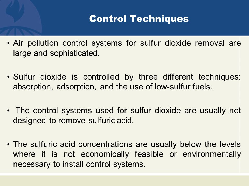 control of sulfur oxides dr wesam al madhoun ppt video online download. Black Bedroom Furniture Sets. Home Design Ideas