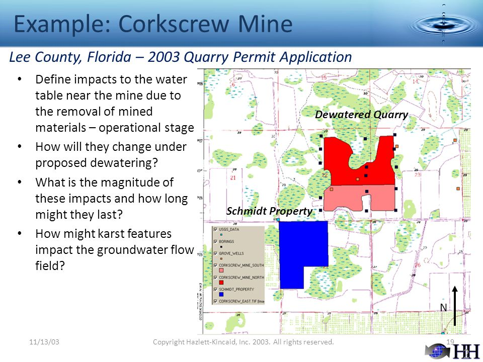 Example: Corkscrew Mine
