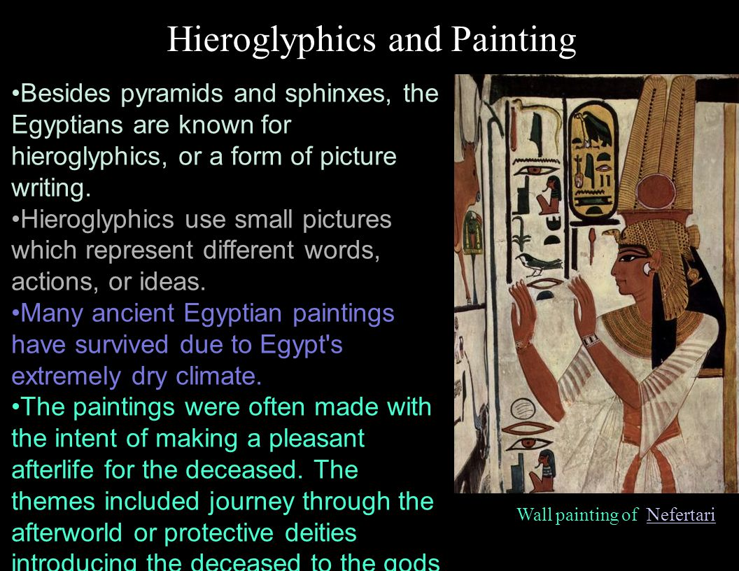 Hieroglyphics and Painting