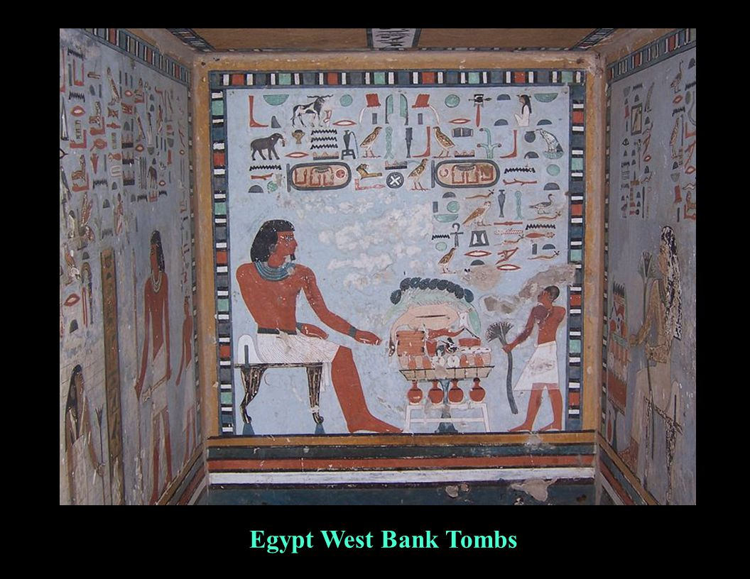 Egypt West Bank Tombs