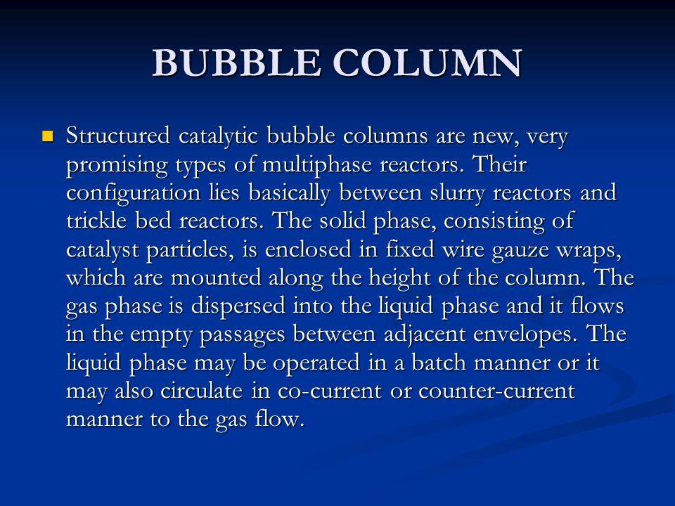 BUBBLE COLUMN