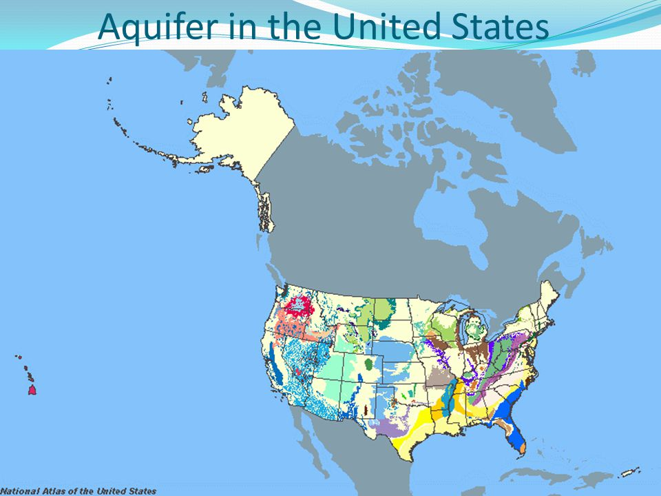 Aquifer in the United States