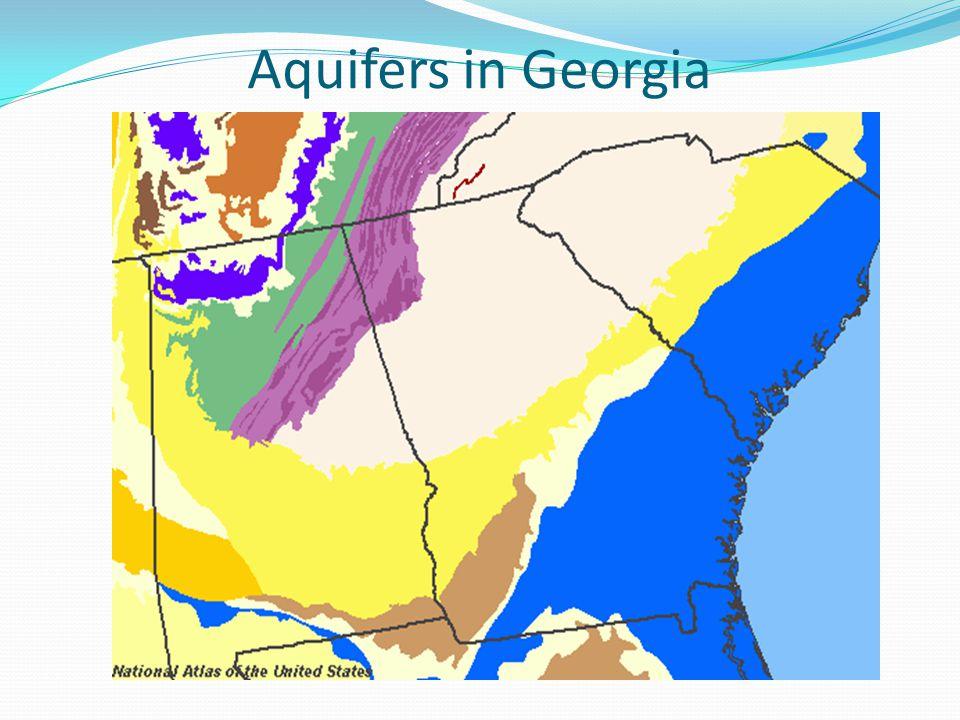 Aquifers in Georgia