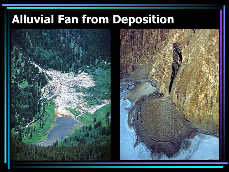 Alluvial Fan from Deposition