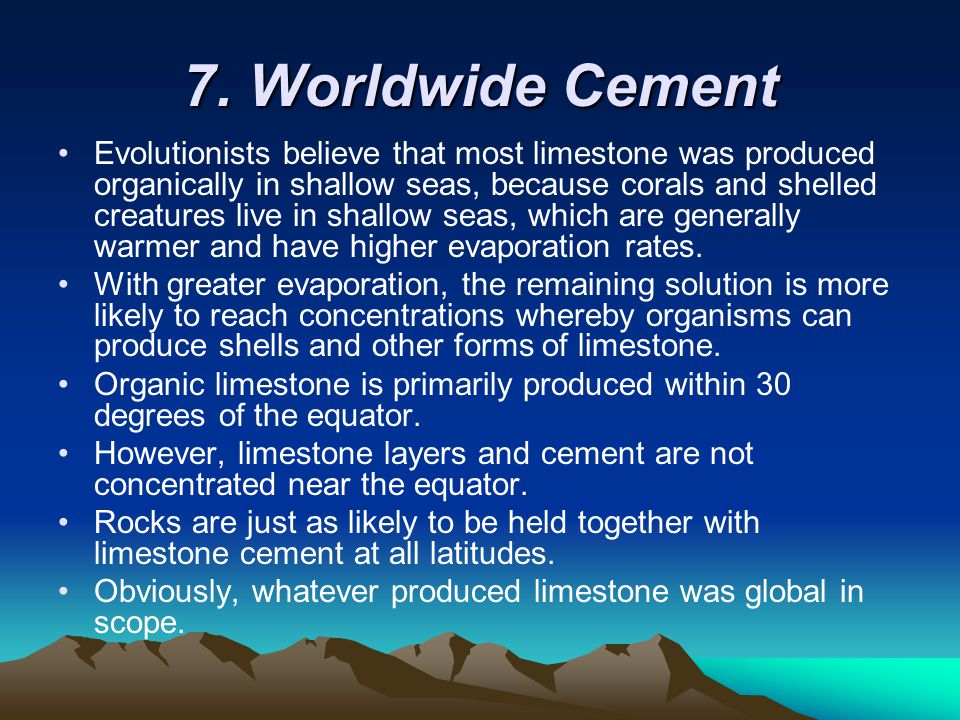 7. Worldwide Cement