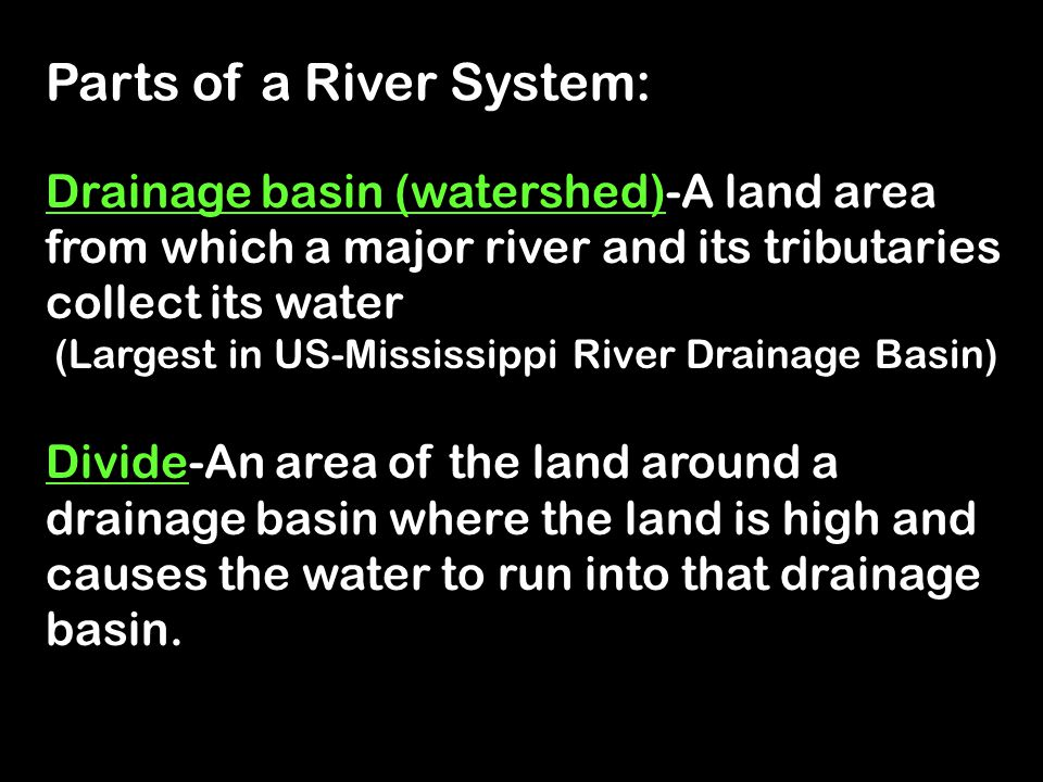 (Largest in US-Mississippi River Drainage Basin)