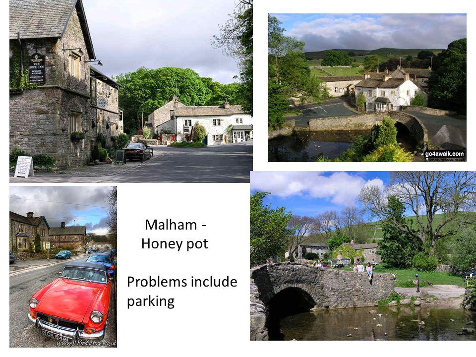 Malham - Honey pot Problems include parking