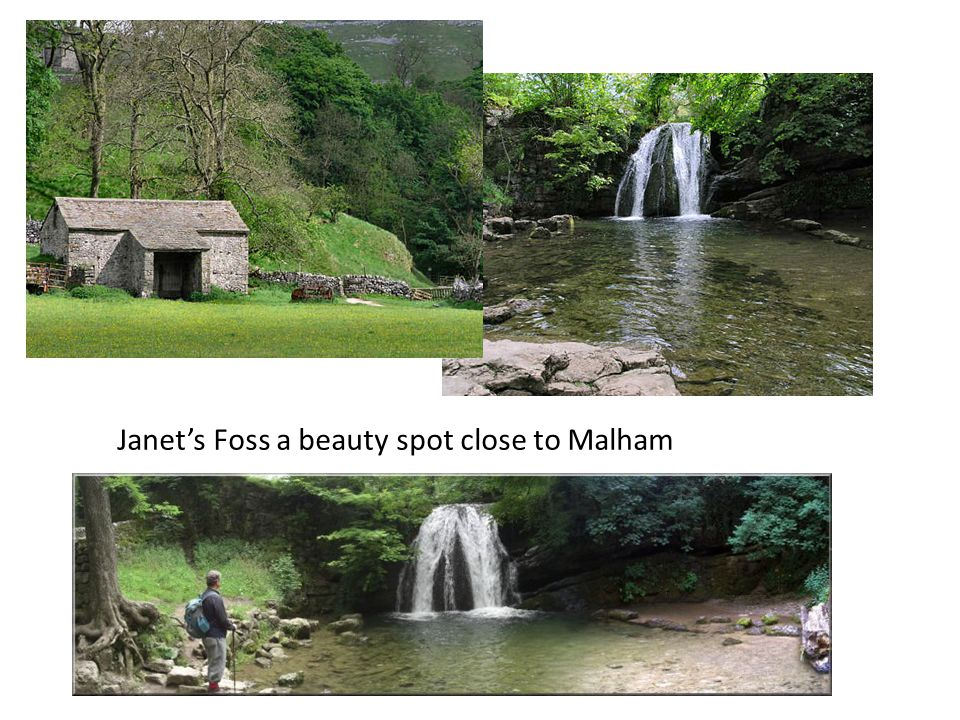Janet's Foss a beauty spot close to Malham