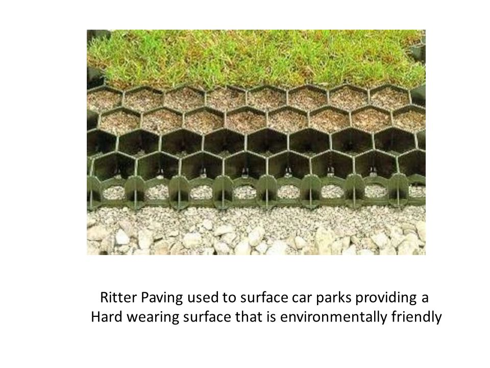 Ritter Paving used to surface car parks providing a