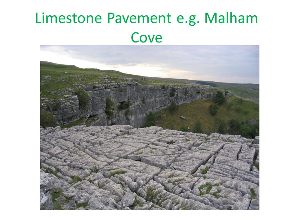Limestone Pavement e.g. Malham Cove