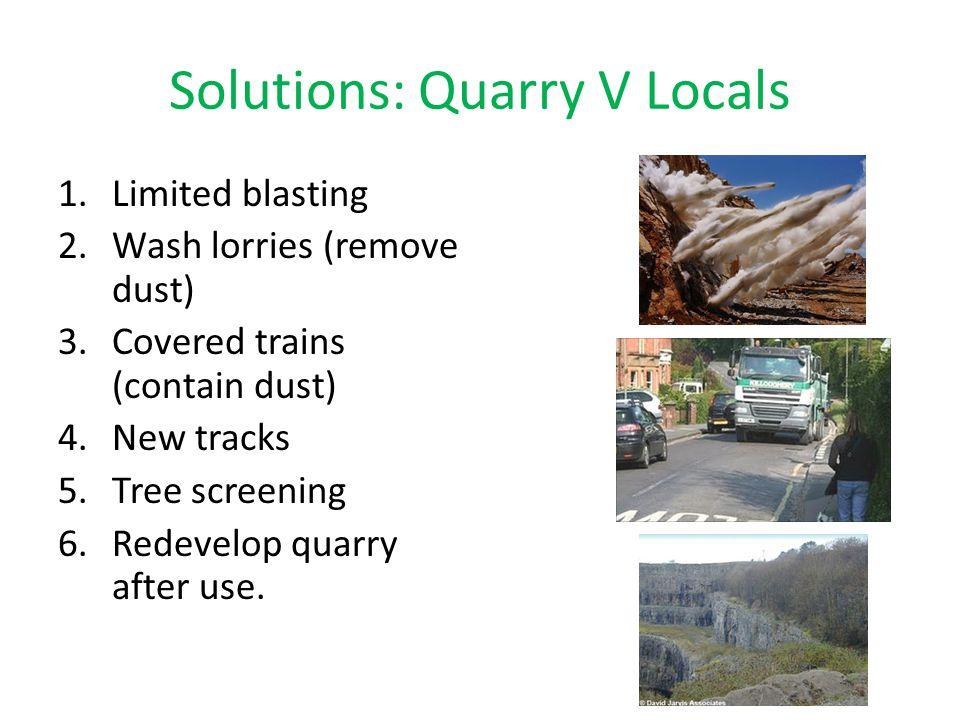 Solutions: Quarry V Locals