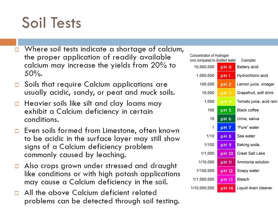 Soil Tests