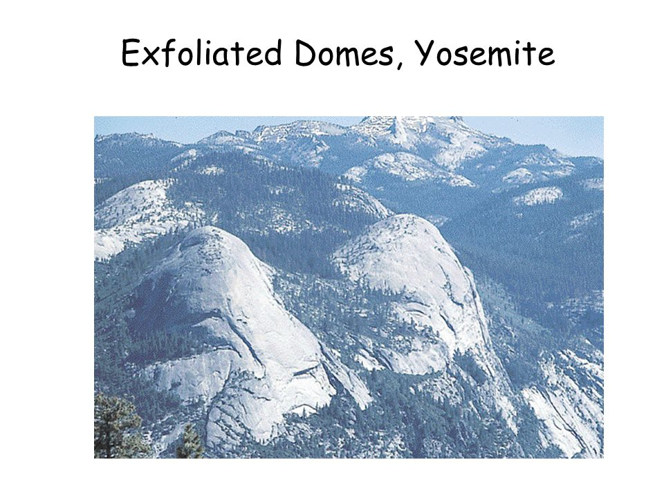 Exfoliated Domes, Yosemite