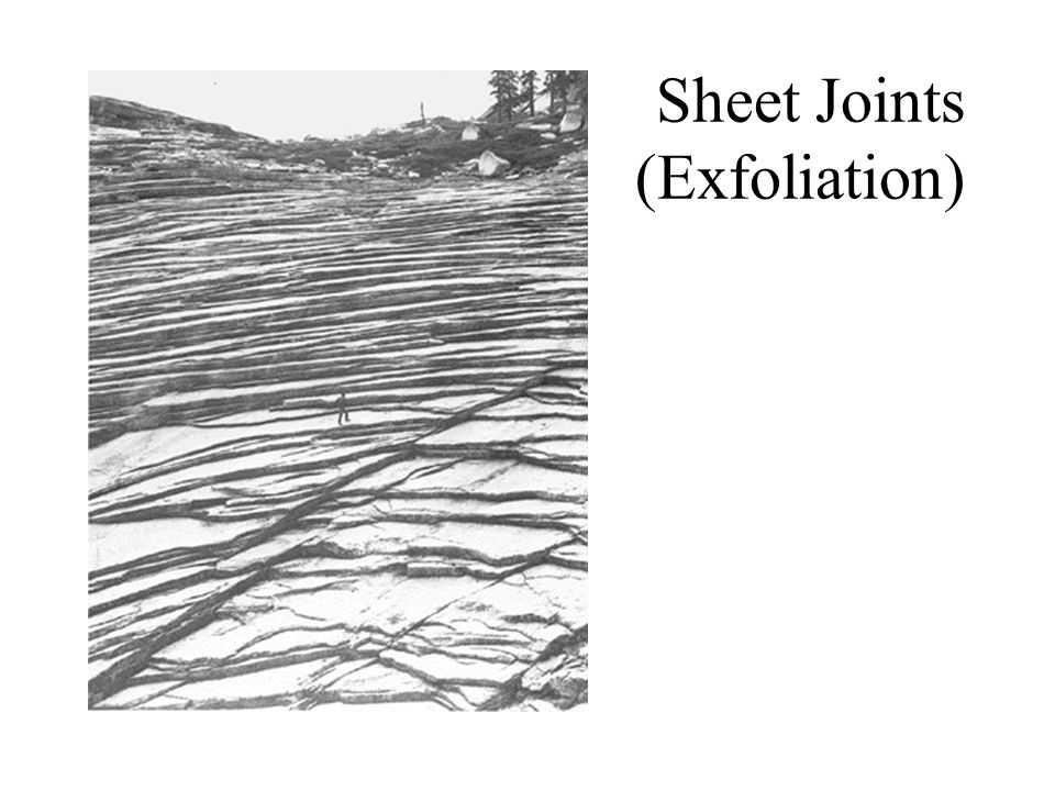 Sheet Joints (Exfoliation)