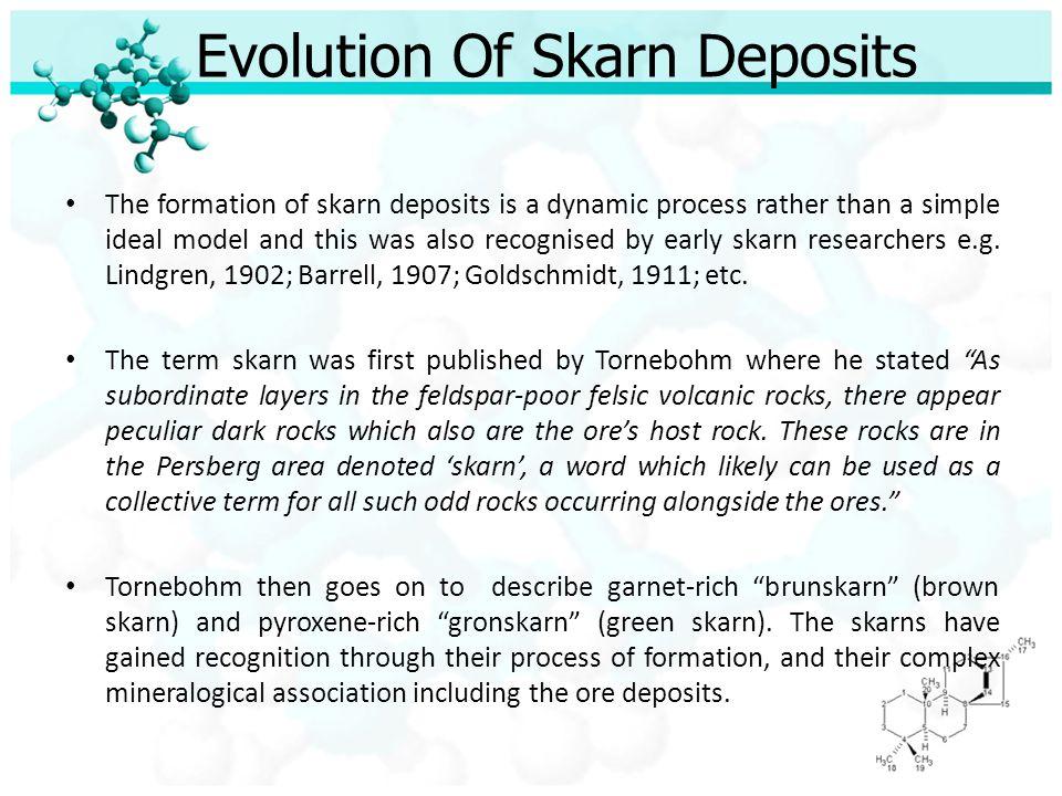 Evolution Of Skarn Deposits
