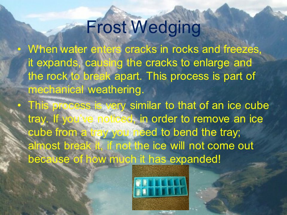 Frost Wedging