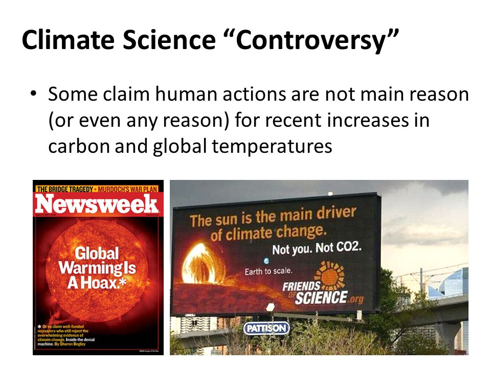 Climate Science Controversy