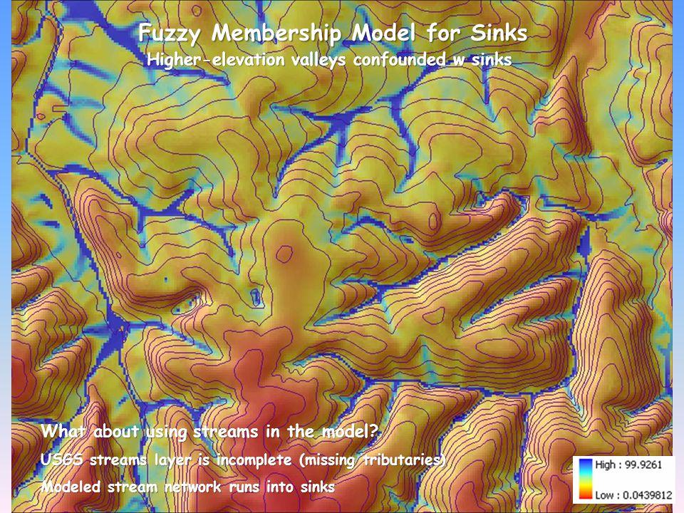 Fuzzy Membership Model for Sinks