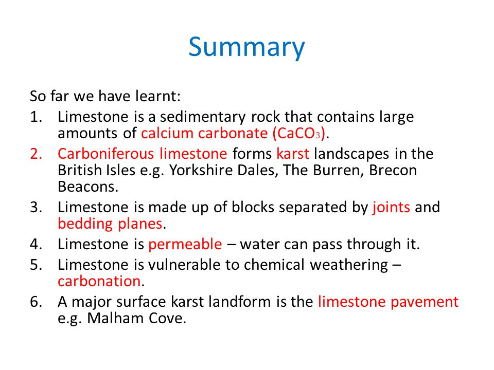 Summary So far we have learnt: