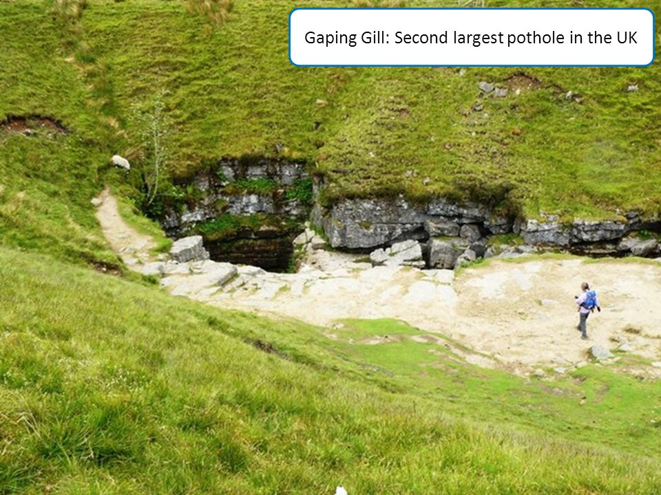 Gaping Gill: Second largest pothole in the UK