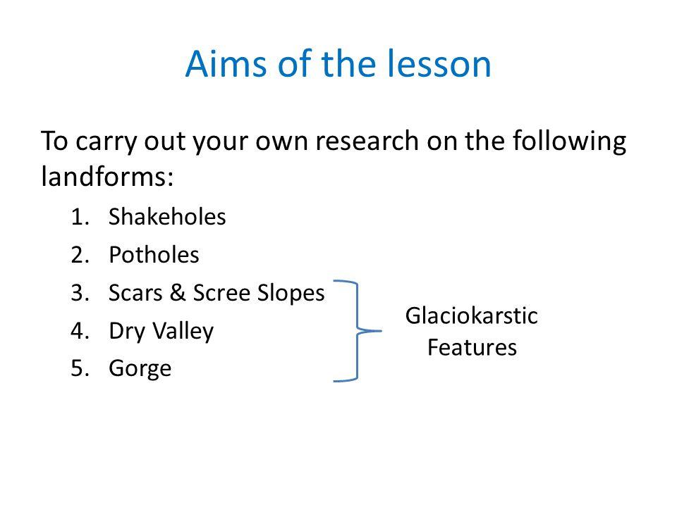 Glaciokarstic Features