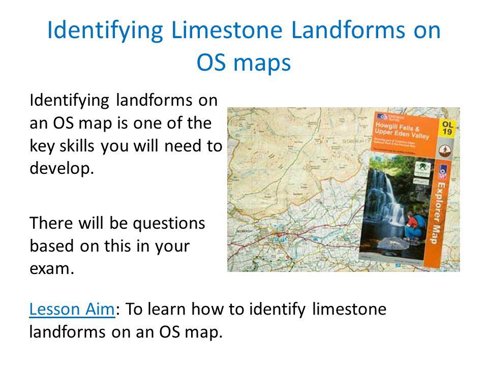 Identifying Limestone Landforms on OS maps