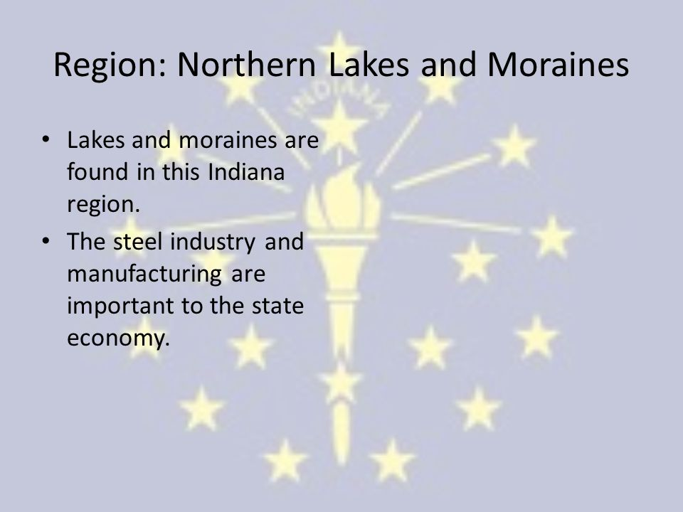 Region: Northern Lakes and Moraines