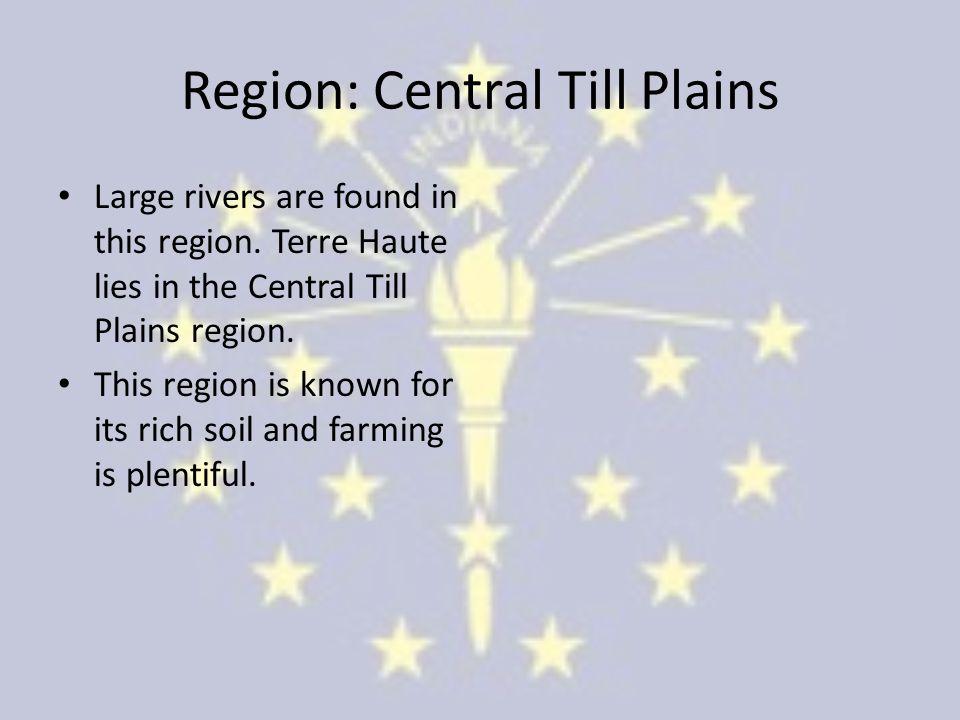 Region: Central Till Plains
