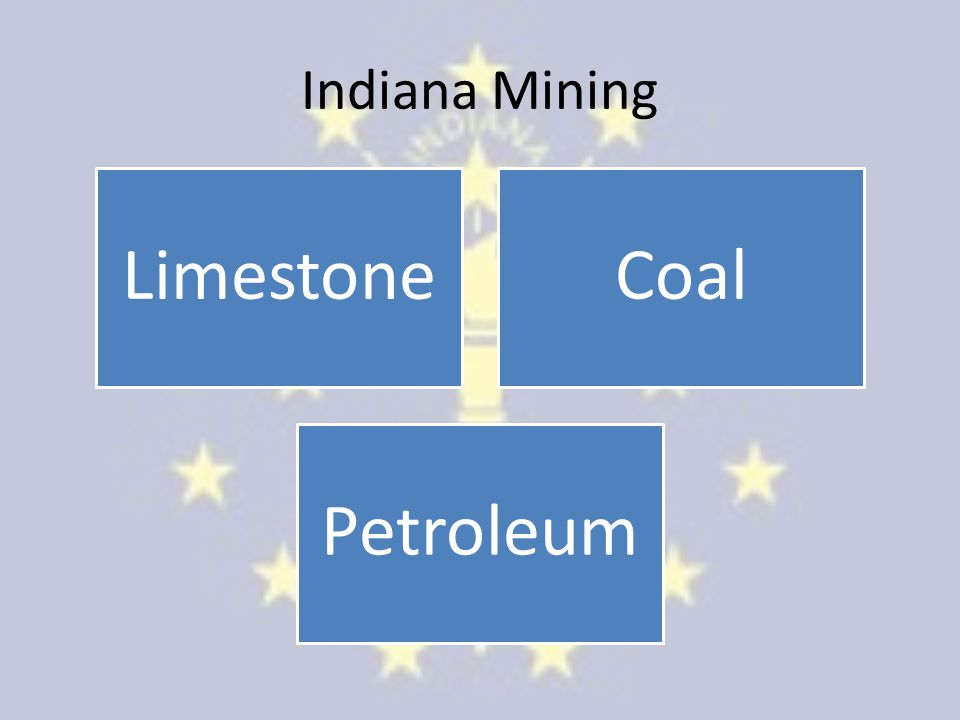 Indiana Mining Limestone Coal Petroleum