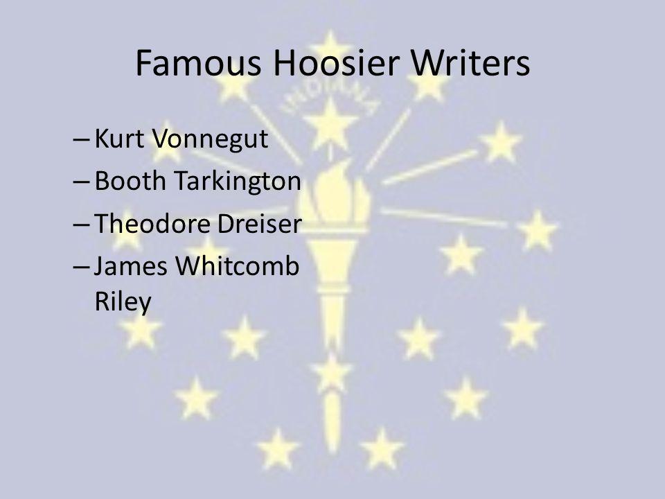 Famous Hoosier Writers