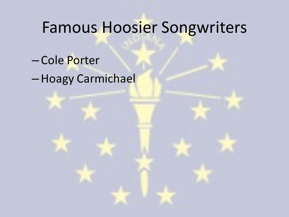 Famous Hoosier Songwriters