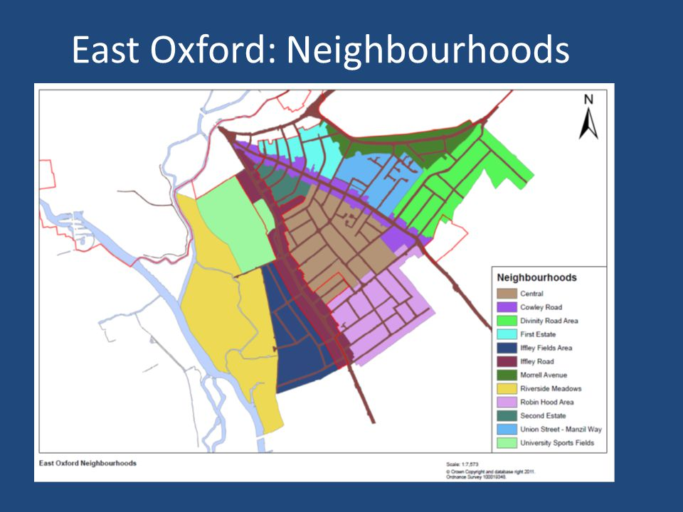 East Oxford: Neighbourhoods