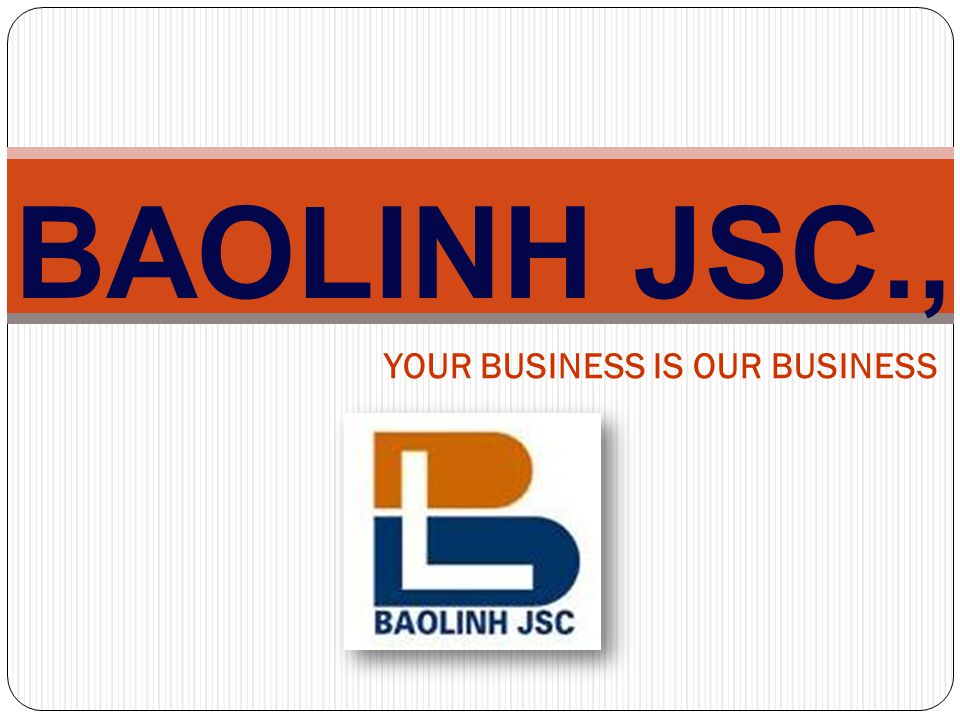 BAOLINH JSC., YOUR BUSINESS IS OUR BUSINESS